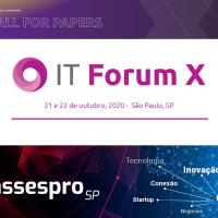 """IT Forum X, está com seu """"Call for papers"""" ABERTO"""