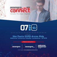 Assespro SP e Assespro Nacional realizam o Assespro Connect 2019, dentro da WTW19, na proxima quinta 07/11